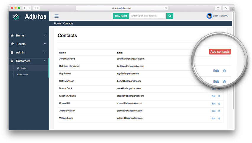 adjutas-manage-customers-and-contacts-easily